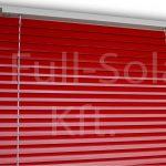 Alumínium reluxa színminta: Piros színben