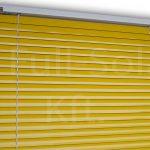 Alumínium reluxa színminta: Sárga színben