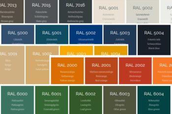 RAL-színskála